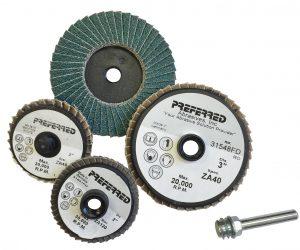 Mini Zirc Flap Discs - Preferred Abrasives