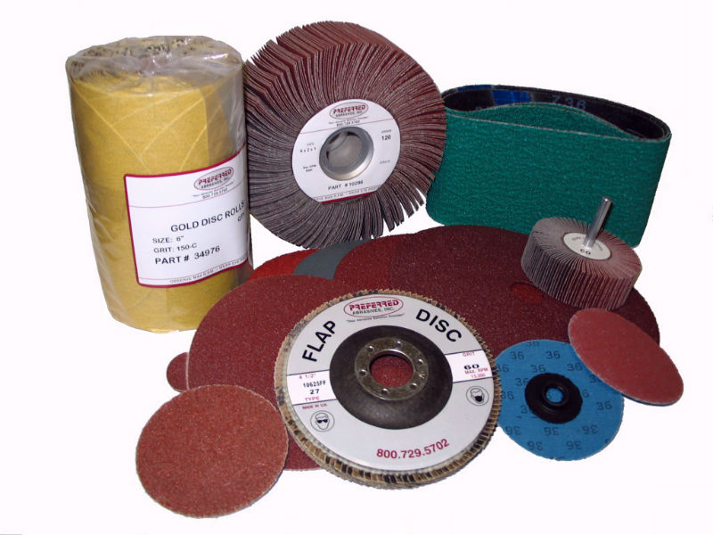 Sandpaper Abrasives Discs and Belts