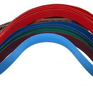 Preferred Abrasives Sanding belts 2 X 72 Starter Kit