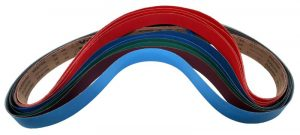 Preferred Abrasives Sanding belts 2 X 72 Starter Kit