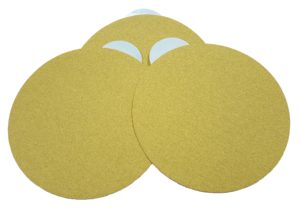 5 inch and 6 inch tab sanding discs